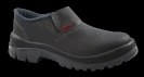 Calçados de Segurança :: Sapato de segurança preto com elástico